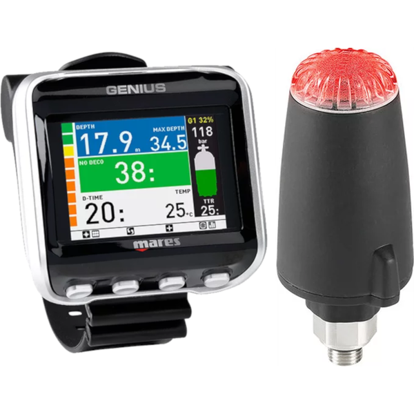 Mares Genius Dive Computer With Transmitter