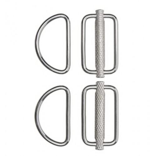 Slideable D-Ring