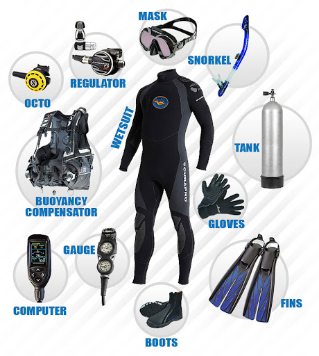 Complet Diving Equipment